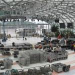 Hangar 7 Aufbau